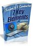 Thumbnail Success Is A Combination 7 Key Elements